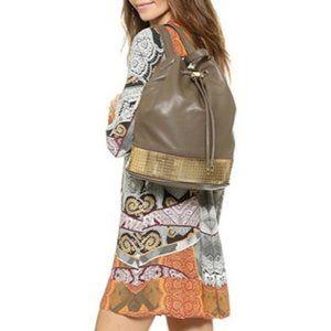 Deux Lux Fathom Backpack Mink Gold Vegan Leather